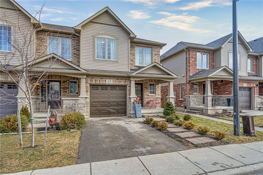 Townhouse for sale at 45 Royal Winter Dr Unit 27 Binbrook Ontario - MLS: H4075133