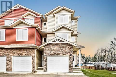 Townhouse for sale at 5301 Windward Pl Unit 27 Sylvan Lake Alberta - MLS: ca0162521