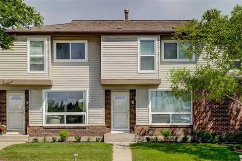 Townhouse for sale at 5625 Silverdale Dr Northwest Unit 27 Calgary Alberta - MLS: C4255750