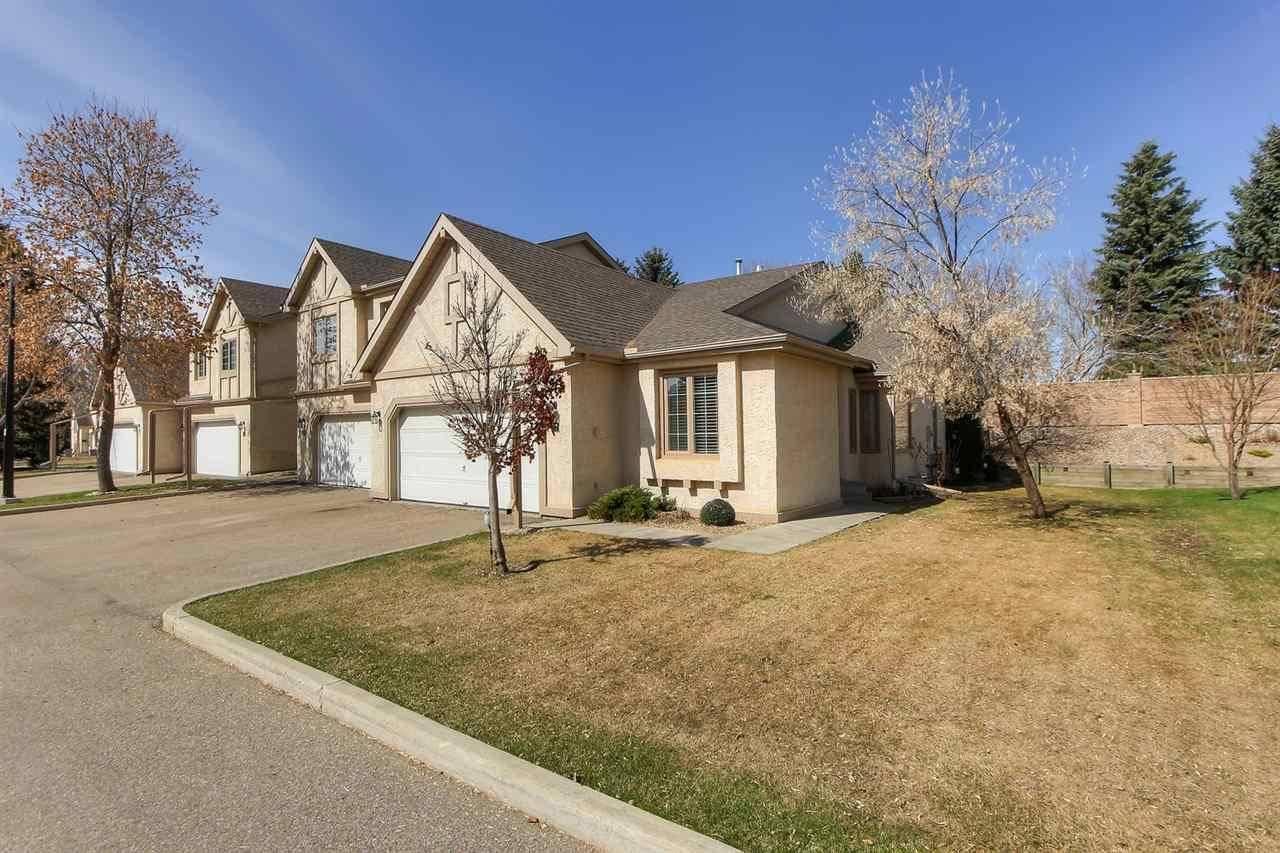 Townhouse for sale at 57 Erin Ridge Dr Unit 27 St. Albert Alberta - MLS: E4195371
