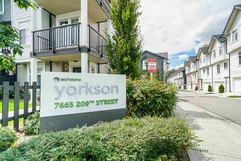 Townhouse for sale at 7665 209 St Unit 27 Langley British Columbia - MLS: R2393037