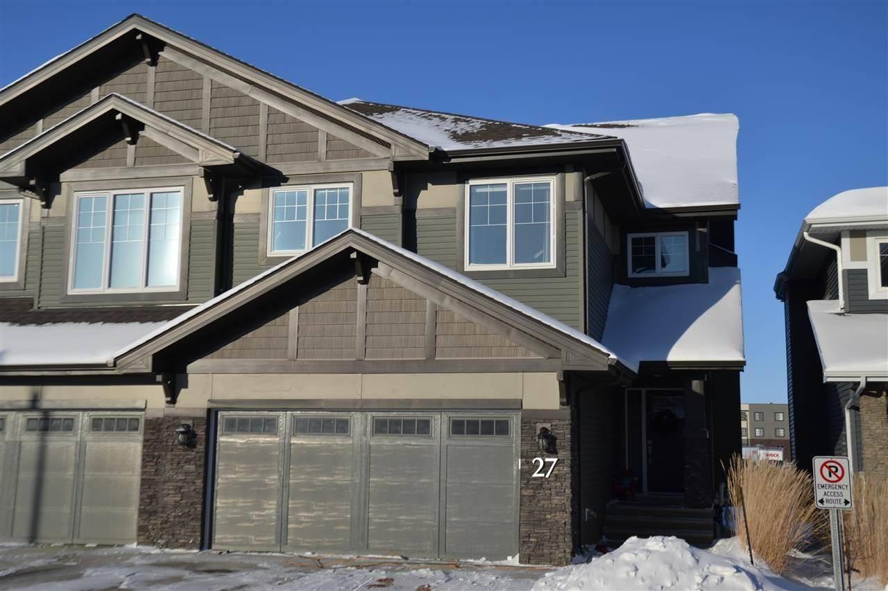 Townhouse for sale at 8132 217 St Nw Unit 27 Edmonton Alberta - MLS: E4184323