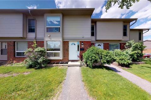 Townhouse for sale at 840 Cahill Dr W Unit 27 Ottawa Ontario - MLS: 1155994