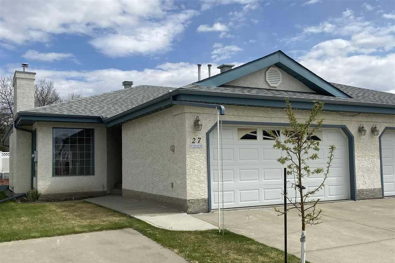 Townhouse for sale at 85 Gervais Rd Unit 27 St. Albert Alberta - MLS: E4200037
