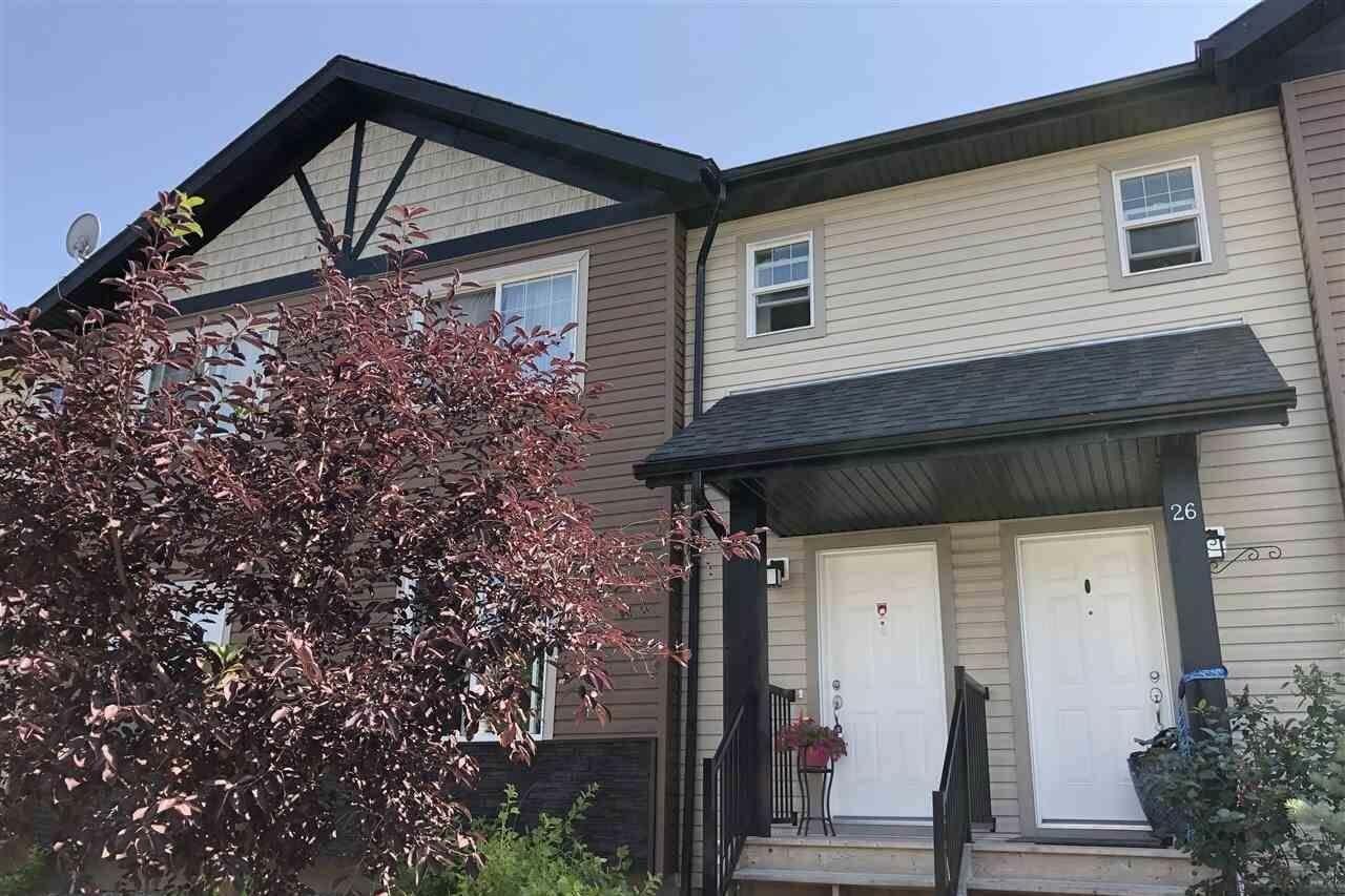 Townhouse for sale at 8716 179 Av NW Unit 27 Edmonton Alberta - MLS: E4209007