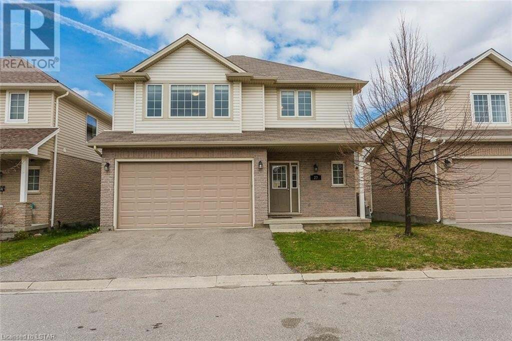 House for sale at 960 Bitterbush Cres Unit 27 London Ontario - MLS: 261537