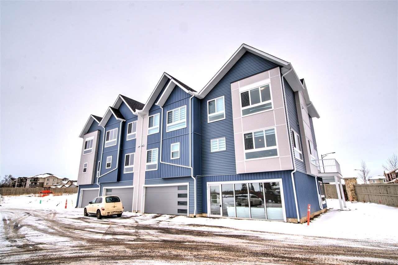 Townhouse for sale at 979 Crystallina Nera Wy NW Unit 27 Edmonton Alberta - MLS: E4220817