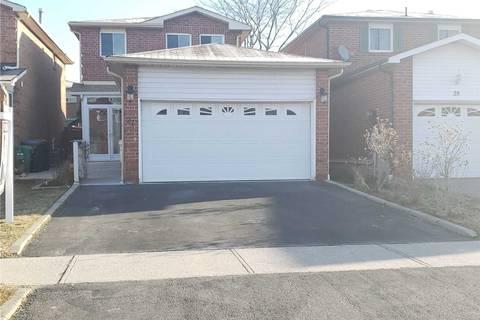 House for sale at 27 Adam St Brampton Ontario - MLS: W4733825