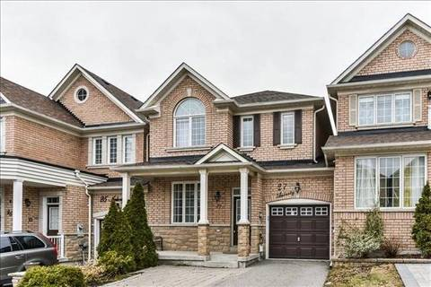 Townhouse for sale at 27 Amberty St Vaughan Ontario - MLS: N4414223