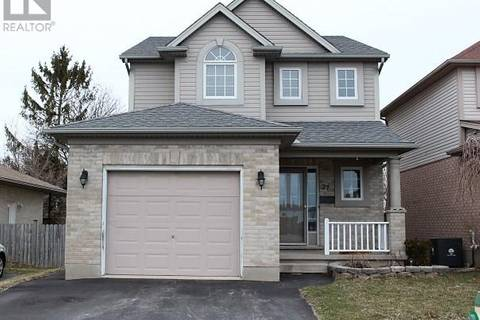 House for sale at 27 Axford Pw St. Thomas Ontario - MLS: 185731