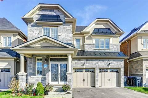House for sale at 27 Blackstone River Dr Brampton Ontario - MLS: W4630314