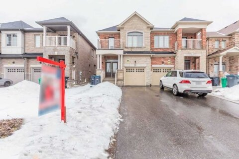 Townhouse for rent at 27 Buchanan (upper) Cres Brampton Ontario - MLS: W5076240