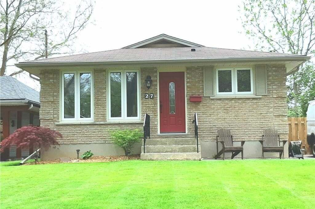 House for sale at 27 Cherie Rd St. Catharines Ontario - MLS: 251638