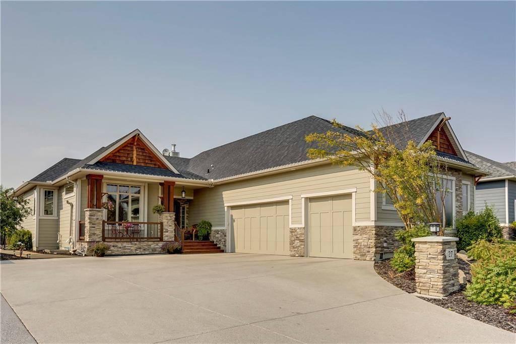 House for sale at 27 Cimarron Estates Wy Cimarron Estates, Okotoks Alberta - MLS: C4287800