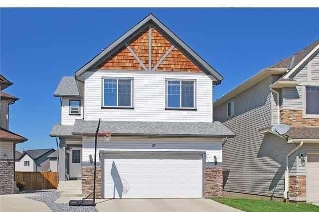 House for sale at 27 Cimarron Vista Ci Cimarron Vista, Okotoks Alberta - MLS: C4293485