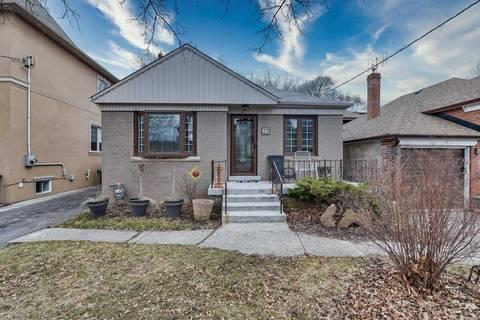 House for sale at 27 Collinson Blvd Toronto Ontario - MLS: C4732777