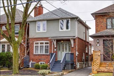 House for rent at 27 Cranbrooke Ave Toronto Ontario - MLS: C4531783