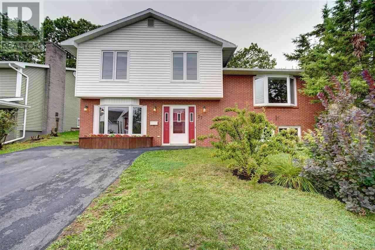 House for sale at 27 Diana Grace Ave Dartmouth Nova Scotia - MLS: 202018789