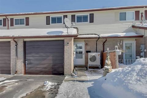 Townhouse for sale at 27 Dickens Dr Barrie Ontario - MLS: S4699411