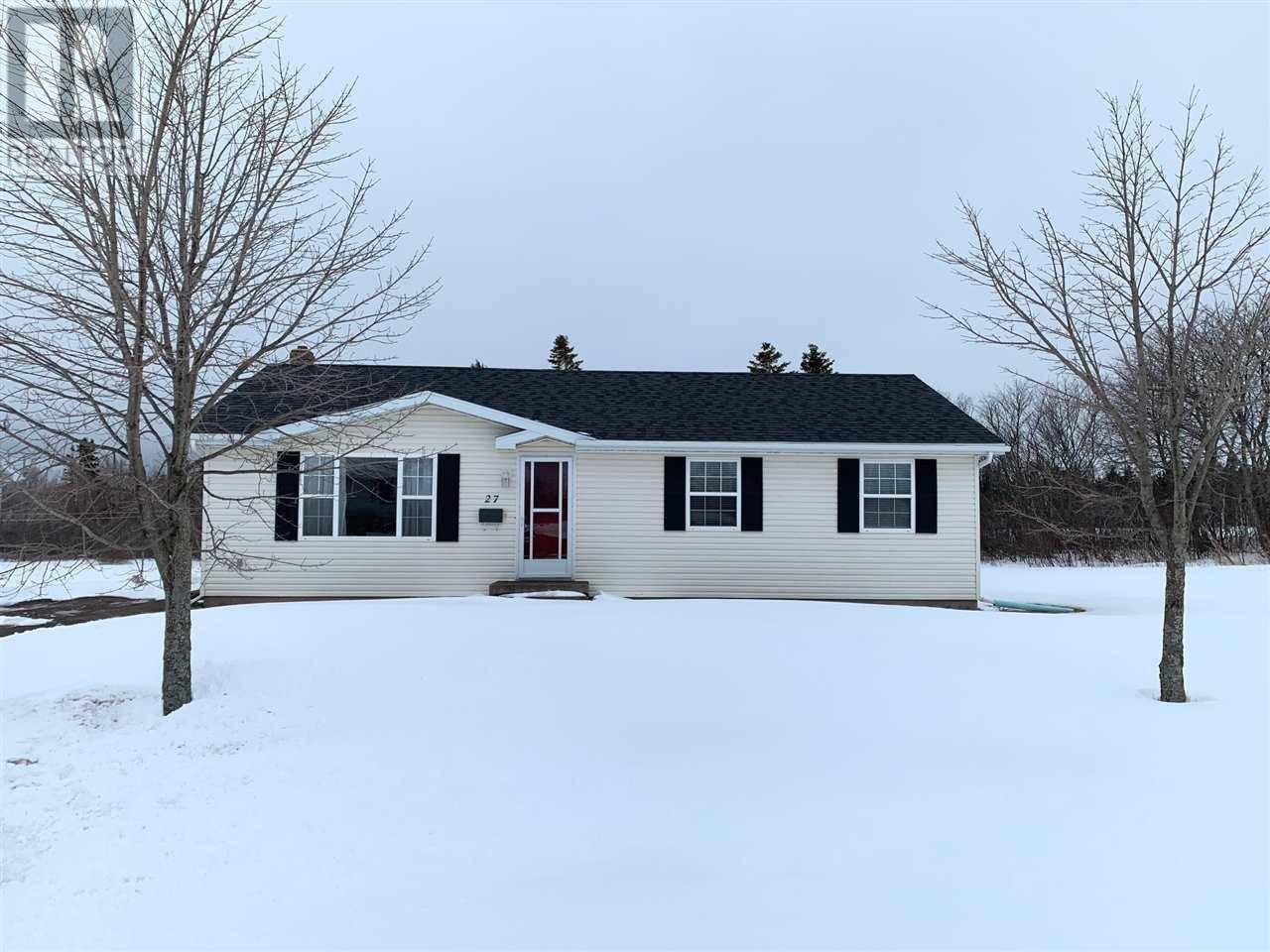 House for sale at 27 Friar Dr Sherwood Prince Edward Island - MLS: 202005499
