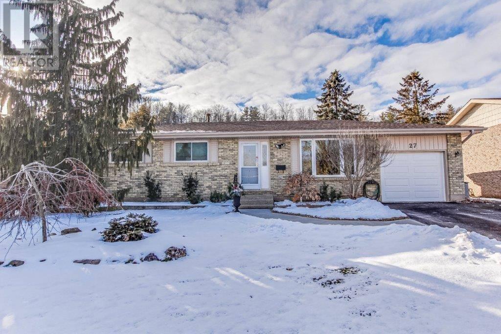 House for sale at 27 Gilston Pw Paris Ontario - MLS: 30788119