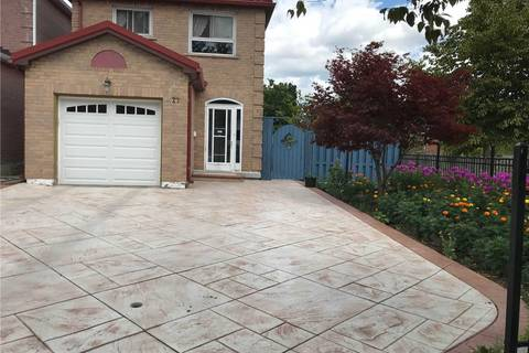 Home for sale at 27 Hainsworth Ct Markham Ontario - MLS: N4726649