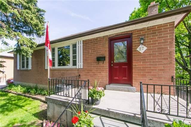 For Sale: 27 Highland Park Boulevard, Markham, ON   3 Bed, 2 Bath House for $1,500,000. See 20 photos!