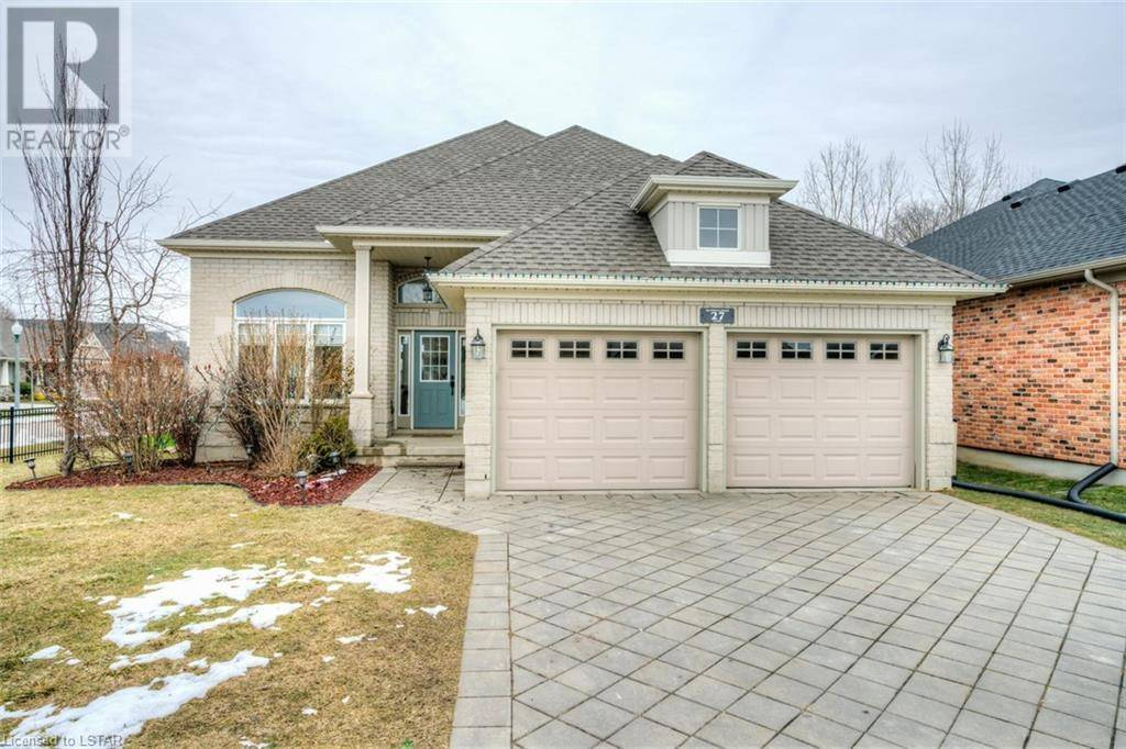 House for sale at 27 Hummingbird Ln St. Thomas Ontario - MLS: 243605