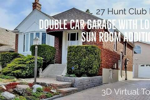House for sale at 27 Hunt Club Dr Toronto Ontario - MLS: E4772125