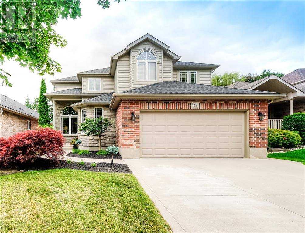 House for sale at 27 Huntington Pl Kitchener Ontario - MLS: 30747468