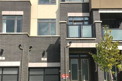 Townhouse for sale at 27 John Stocks Wy Markham Ontario - MLS: N4664696