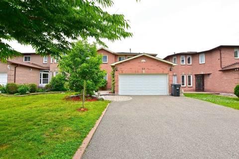 House for sale at 27 Kirk Dr Brampton Ontario - MLS: W4504273