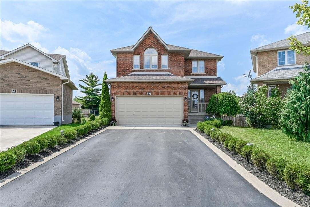 House for sale at 27 Lanza Ct Hamilton Ontario - MLS: H4085022
