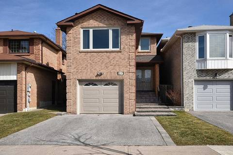 House for sale at 27 Mckelvey Dr Markham Ontario - MLS: N4718429