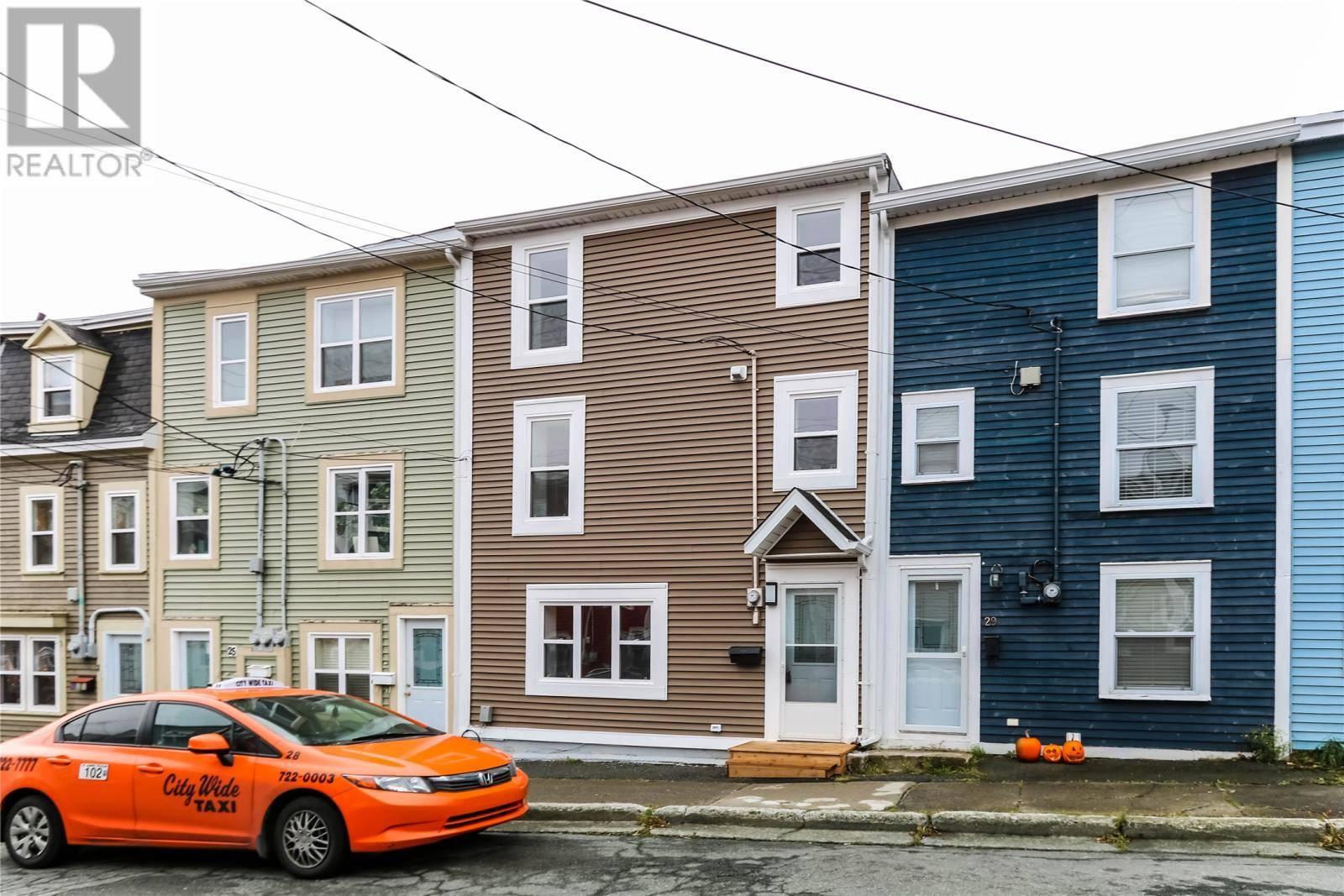 House for sale at 27 Mullock St St. John's Newfoundland - MLS: 1206729