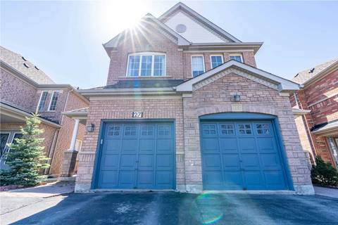 Townhouse for sale at 27 Novella Rd Vaughan Ontario - MLS: N4415118