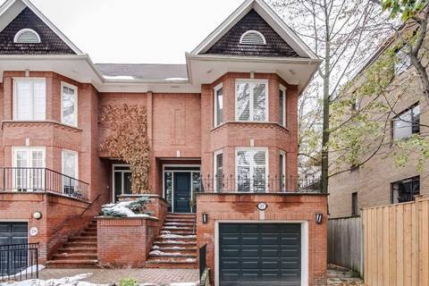 Townhouse for rent at 27 Oriole Rd Toronto Ontario - MLS: C4637760