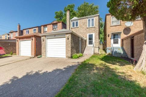 House for sale at 27 Peachtree Pl Vaughan Ontario - MLS: N4587888