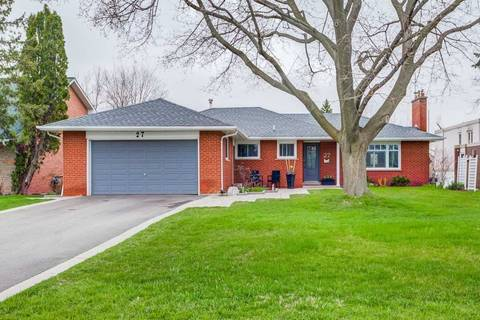 House for sale at 27 Plainsman Rd Mississauga Ontario - MLS: W4434303