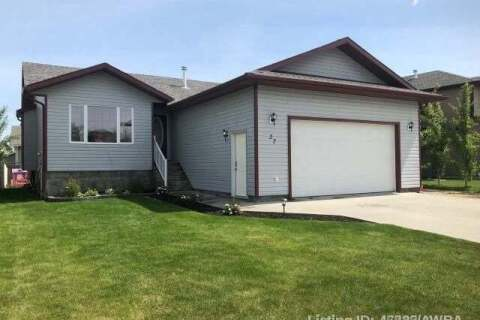 House for sale at 27 Poplar Dr Whitecourt Alberta - MLS: A1029023