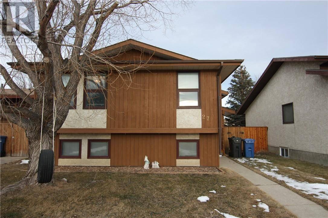 House for sale at 27 Princeton Cres W Lethbridge Alberta - MLS: ld0189035