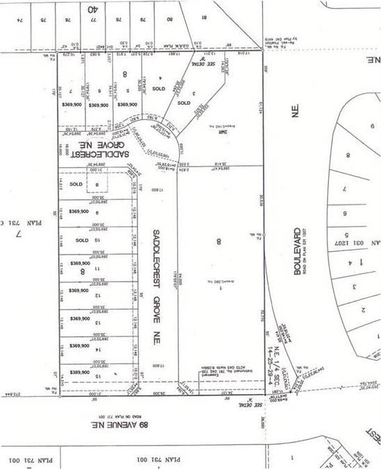 Residential property for sale at 27 Saddlecrest Gr Ne Saddle Ridge, Calgary Alberta - MLS: C4201726