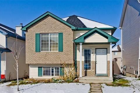 House for sale at 27 Saddlefield Rd Northeast Calgary Alberta - MLS: C4272284