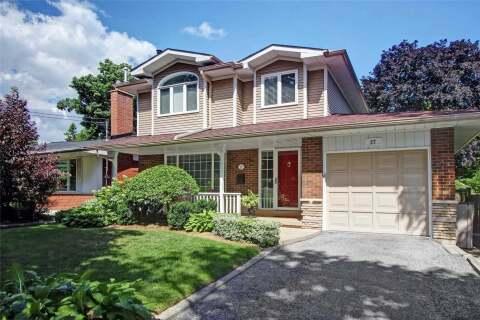 House for sale at 27 Schubert Dr Toronto Ontario - MLS: E4914296