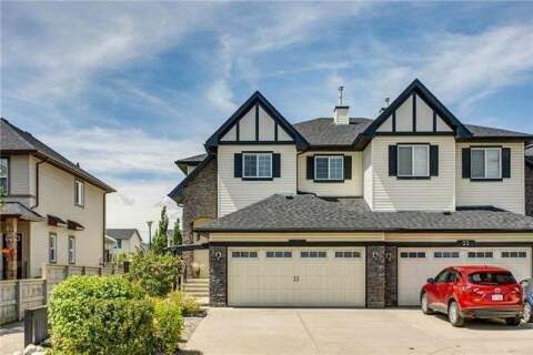 Townhouse for sale at 27 Silverado Range Ht Southwest Calgary Alberta - MLS: C4301833