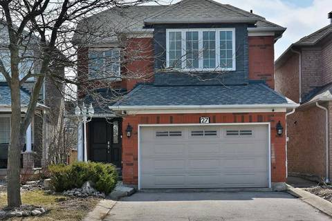 House for sale at 27 Sylwood Cres Vaughan Ontario - MLS: N4732636