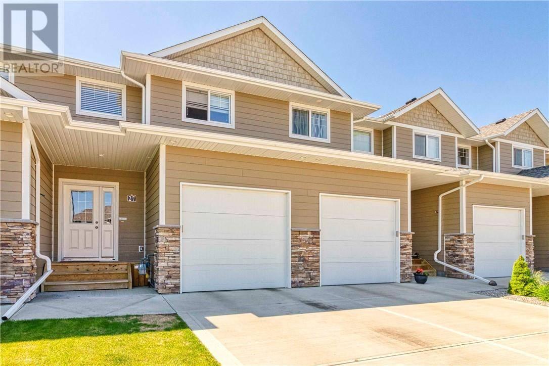 Townhouse for sale at 27 Tallman Cs Red Deer Alberta - MLS: ca0169694