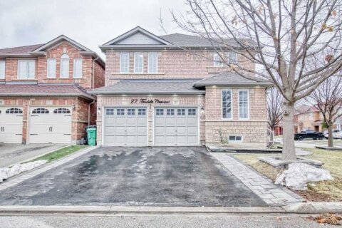 House for sale at 27 Trudelle Cres Brampton Ontario - MLS: W5002237