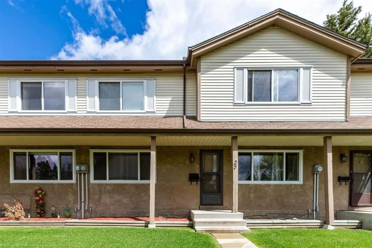 Townhouse for sale at 27 Walden Pa St. Albert Alberta - MLS: E4199178