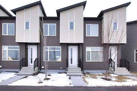 Townhouse for sale at 270 Redstone Blvd Northeast Calgary Alberta - MLS: C4281544